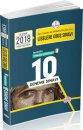 8. Sınıf Liselere Giriş Sınavına Hazırlık Tamamı Çözümlü 10 Deneme Sınavı Data Yayınları