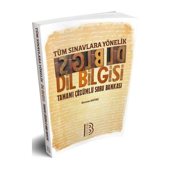 2020 Tüm Sınavlara Yönelik Dilbilgisi Tamamı Çözümlü Soru Bankası Benim Hocam Yayınları