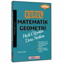 2018 KPSS Kurul Matematik Geometri Hızlı Öğretim Ders Notları Süvari Akademi Yayınları