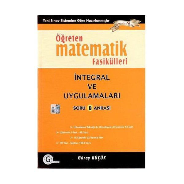 Gür Yayınları Öğreten Matematik Fasikülleri İntegral ve Uygulamaları Soru Bankası *