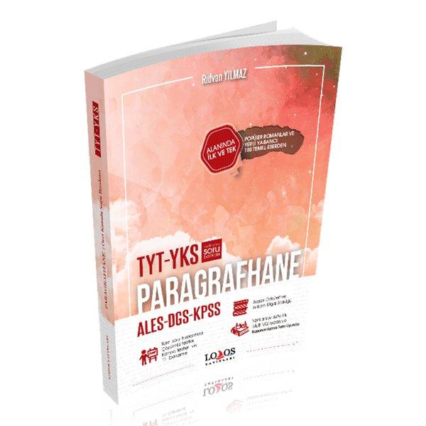 YKS TYT KPSS DGS ALES Paragrafhane Özet Konu Anlatımlı Soru Bankası Lodos Yayınlar
