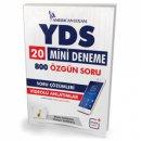 YDS 20 Mini Deneme 800 Özgün Soru Pelikan Yayınları