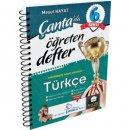 6.Sınıf Türkçe Öğreten Defter Çanta Yayınları