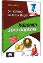 7. Sınıf Din Kültürü ve Ahlak Bilgisi Kazanım Soru Bankası Çanta Yayınları