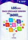 Karekök LGS' den Önce Çözülmesi Gereken Son 600 Soru