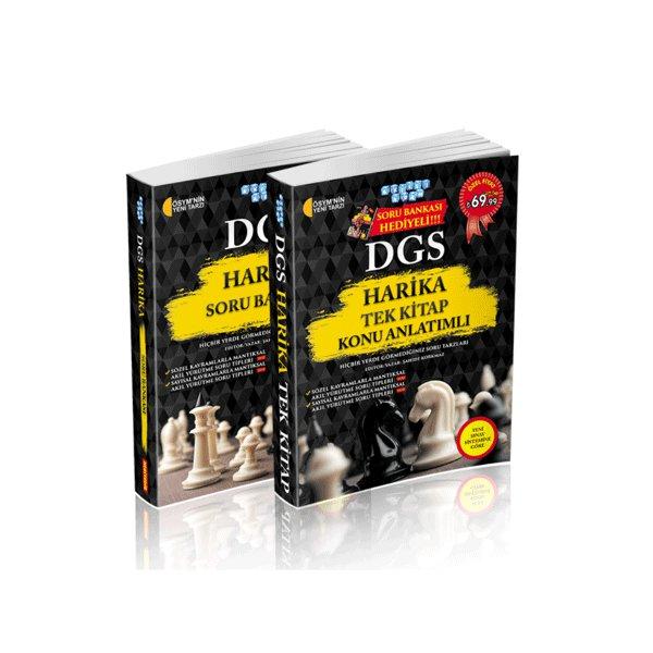 DGS Harika Konu Anlatımlı Tek Kitap Soru Bankası Hediyeli Akıllı Adam Yayınları
