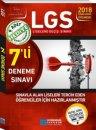 8.Sınıf LGS 7 li Video Çözümlü Deneme Sınavı 9 Adet Sıralı Deneme Hediyeli Evrensel İletişim Yayınları