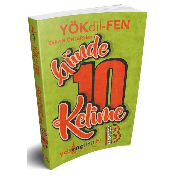 YÖKDİL Fen Günde 10 Kelime Cep Kitabı Benim Hocam Yayınları