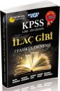 KPSS  Lise Önlisans İlaç Gibi 7 Fasikül Deneme Akıllı Adam Yayınları