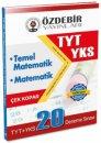 YKS 1.Oturum TYT Matematik Temel Matematik Çek Kopar 20 Deneme Sınavı Özdebir Yayınları