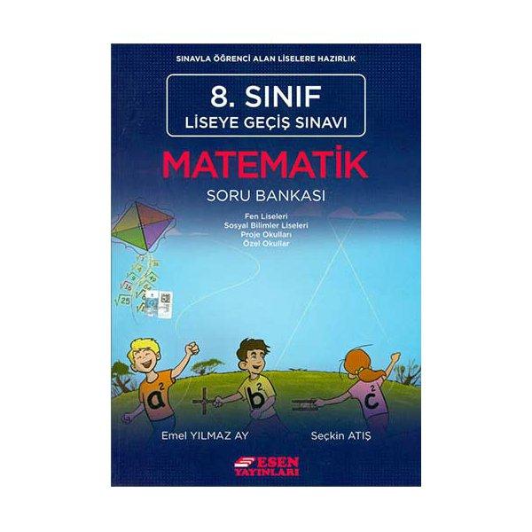 8.Sınıf LGS Matematik Soru Bankası Esen Yayınları