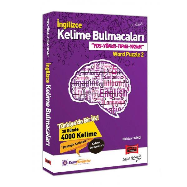 İngilizce Kelime Bulmacaları YDS YÖKDİL TIPDİL YKSDİL Word Puzzle 2 Yargı Yayınları
