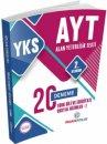 YKS 2. Oturum AYT Türk Dili ve Edebiyatı Sosyal Bilimler 1 Deneme 20 li Puan Yayınları