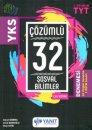 YKS 1. Oturum TYT Sosyal Bilimler Çözümlü Çek Kopar 32 Deneme Yanıt Yayınları