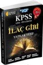 KPSS Lise-Ön Lisans İlaç Gibi Yaprak Test Akıllı Adam Yayınları