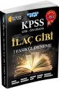KPSS Lise-Ön Lisans İlaç Gibi 7 Fasikül Deneme Akıllı Adam Yayınları