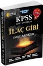 KPSS Lise-Ön Lisans İlaç Gibi Soru Bankası Akıllı Adam Yayınları