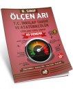 8. Sınıf Ölçen Arı TC. İnkılap Tarihi ve Atatürkçülük Deneme Seti Arı Yayınları