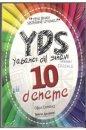 YDS Tamamı Çözümlü 10 Deneme Tercih Akademi Yayınları