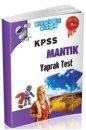 KPSS Mantık Yaprak Test Akıllı Adam Yayınları