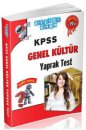 KPSS Genel Kültür Yaprak Test Akıllı Adam Yayınları