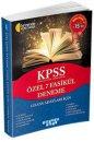 KPSS Genel Yetenek Genel Kültür Özel 7 Fasikül Deneme Akıllı Adam Yayınları
