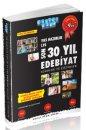YKS Hazırlık Son 30 Yıl Edebiyat Soruları ve Çözümleri Akıllı Adam Yayınları