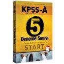 KPSS A Grubu Tamamı Çözümlü 5 Deneme Sınavı 657 Yayınevi