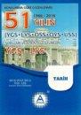 YGS LYS Tarih 51 Yılın Çıkmış Soruları ve Ayrıntılı Çözümleri A Yayınları