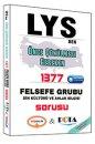 LYS den Önce Çözülmesi Gereken 1377 Felsefe Grubu Din Kültürü ve Ahlak Bilgisi Sorusu Yediiklim Yayınları