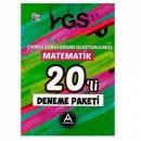 YGS Çıkmış Sorulardan Oluşturulmuş Matematik 20 li Deneme Paketi A Yayınları
