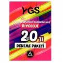 YGS Biyoloji 20 li Deneme Paketi Çıkmış Sorulardan Oluşturulmuş A Yayınları