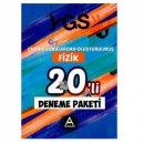 YGS Fizik 20 li Deneme Paketi Çıkmış Sorulardan Oluşturulmuş A Yayınları