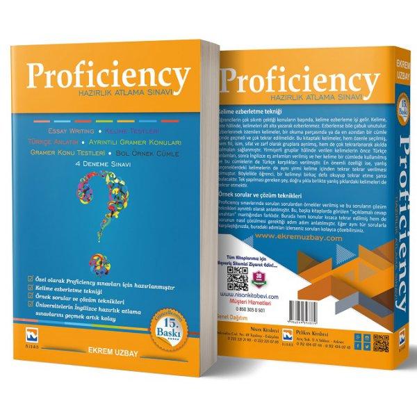 Ekrem Uzbay Proficiency Hazırlık Atlama Sınavı Nisan Kitabevi 15. Baskı