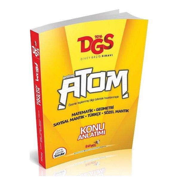 2016 DGS Atom Konu Anlatımlı İhtiyaç Yayınları