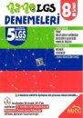 8.Sınıf LGS Provası NANO 5 Deneme Mikro Hücre Yayınları