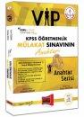 Soru Cevap Yöntemi ile KPSS Öğretmenlik Mülakat Sınavının Anahtarı VIP Yargı Yayınları