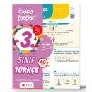 3.Sınıf Türkçe İpucu Yaprak Test Ünlü Yayınları