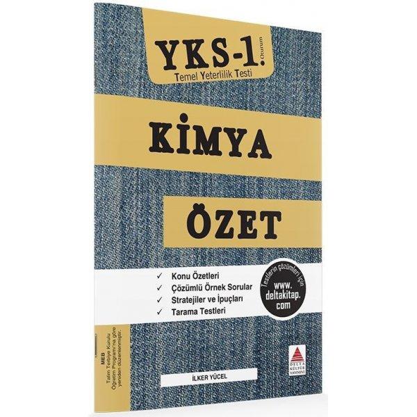 Delta Kültür Yayınları  YKS 1. Oturum TYT Kimya Özet Kitabı