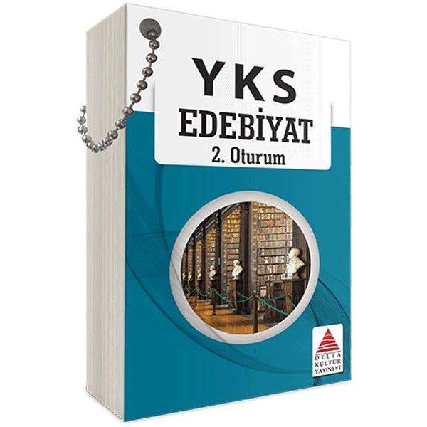 YKS 2. Oturum Edebiyat Kartları Delta Kültür Yayınları