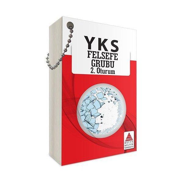YKS 2. Oturum Felsefe Grubu Kartları Delta Kültür Yayınları