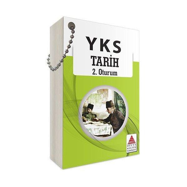 YKS 2. Oturum Tarih Kartları Delta Kültür Yayınları