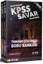 2018 KPSS Savar Genel Yetenek Genel Kültür Tamamı Çözümlü Soru Bankası (2 Kitap)  Rektör Yayınları