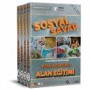 2018 ÖABT Sosyal Savar Sosyal Bilgiler Öğretmenliği Konu Anlatımlı Modüler Set 4 Kitap  Rektör Yayınları