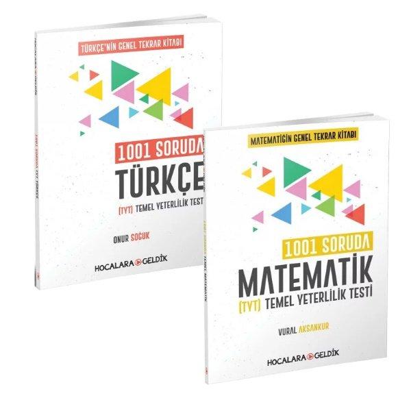 Hocalara Geldik 1001 Soruda Türkçe ve Matematik Genel Tekrar Seti