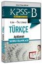 2018 KPSS Lise Ön Lisans Türkçe Açıklamalı Soru Bankası 657 Yayınları