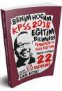 2018 Eğitim Bilimleri Rehberlik ve Özel Eğitim Tamamı Çözümlü 22 Deneme Can Köni  Benim Hocam Yayınları