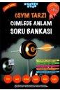 TYT AYT KPSS ALES DGS LGS ÖSYM Tarzı Cümlede Anlam Soru Bankası Akıllı Adam Yayınları