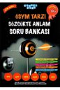 TYT AYT KPSS ALES DGS LGS ÖSYM Tarzı Sözcükte Anlam Soru Bankası Akıllı Adam Yayınları