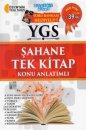 YGS Şahane Tek Kitap Konu Anlatımlı Soru Bankası Hediyeli Akıllı Adam Yayınları